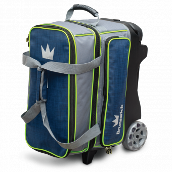 Crown deluxe Double Roller Navy/Lime