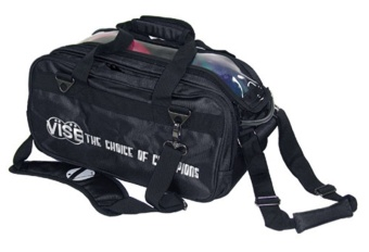 Vise 2-Ball Tote Roller Black