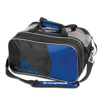 Brunswick Crown 2-ball bag Navy m sidväska