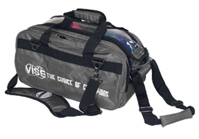 Vise 2-Ball Tote Roller Grey