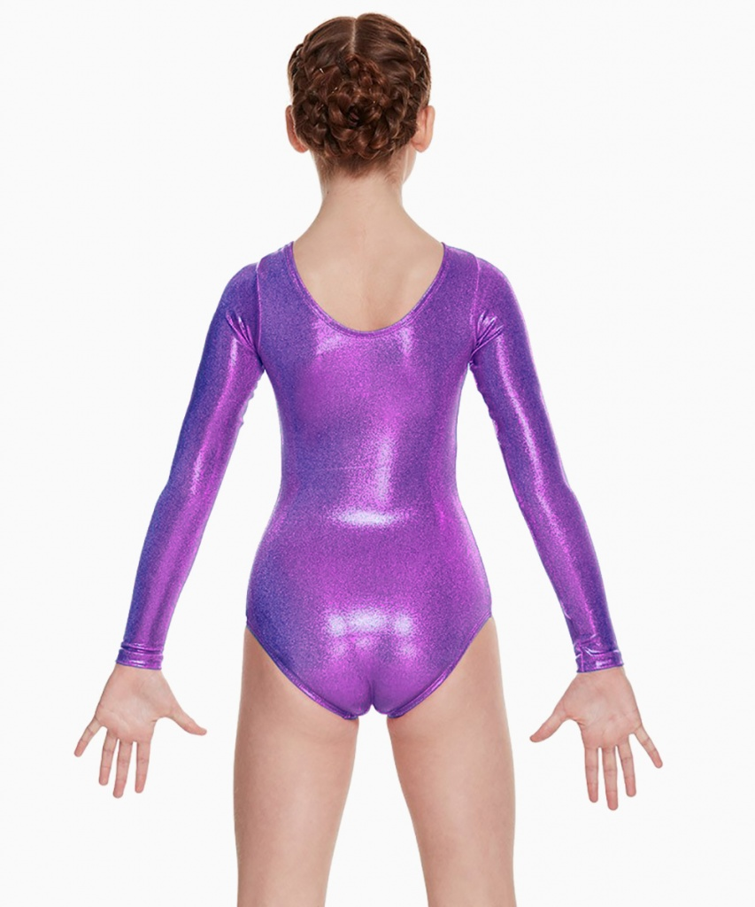 LG110C Gymnastikdräkt lång ärm