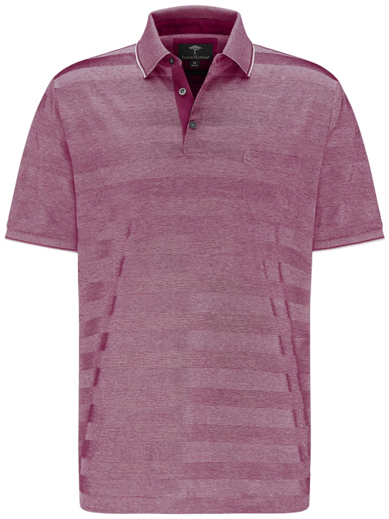 Fynch Hatton Polo Mercerized stripe crous