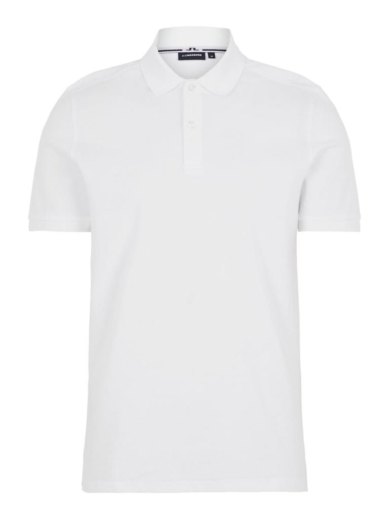 J.Lindeberg Troy ST Pique Polo Shirt White