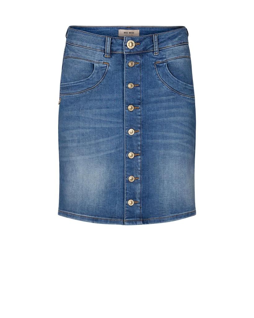 Mosmosh Vicky Decor Skirt Blue