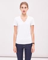 Newhouse V-neck T-shirt White