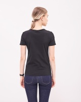 Newhouse V-neck T-shirt Svart
