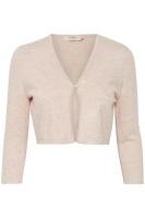 Cream Cana Knit Cardigan Sepia Rose
