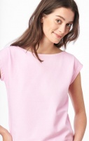 Boomerang Frejus Solid Pique Top Middway Pink