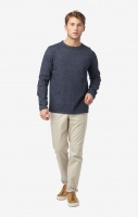 Boomerang Axel O-Neck Sweater Dark Indigo