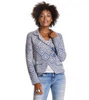 Odd Molly Lovely knit jacket Blue