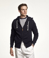 Morris Zip Hood Old Blue