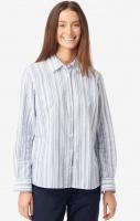Boomerang Aina Striped Shirt Electric Blue