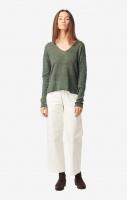 Boomerang Lilja Linen Sweater Venetian Green