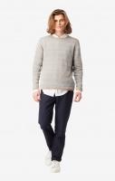 Boomerang Axel Linen Sweater Dark Putty
