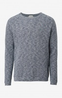 Boomerang Henry O-Neck Sweater Midnight Blue