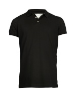 Hansen&Jacob Pique Stretch Polo Black