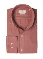Hansen&Jacob Shirt Dobby Sun Melange Red