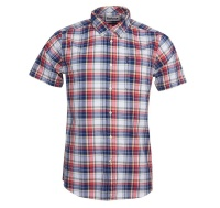 Barbour Madras 5 S/S TF Pink