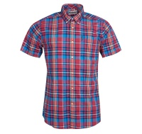 Barbour Madras 5 S/S TF Red