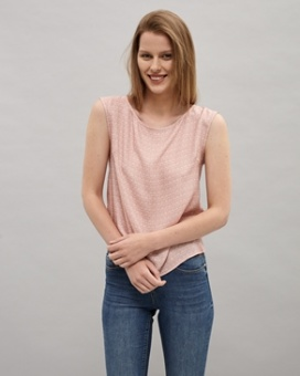 Newhouse Lisa Top Soft Pink