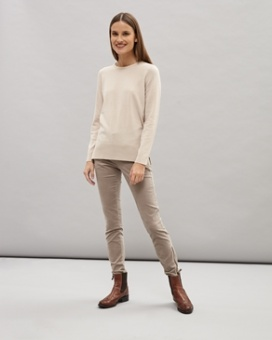Newhouse Alice Lambswool Roundneck