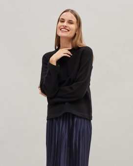 Newhouse Boiled Wool Sweater