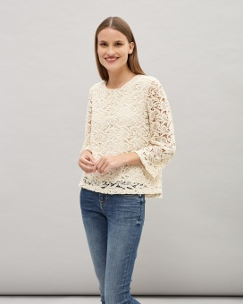 Newhouse Lace Top Oat