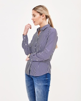 Newhouse Fitted shirt Navy