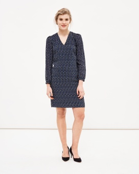 Newhouse Vega Dress Navy