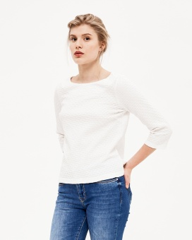Newhouse Boatneck Sweater Vit