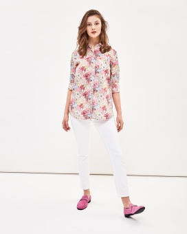 Newhouse Elsa Liberty Shirt Offwhite