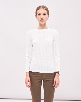 Newhouse Cable Jumper Off White