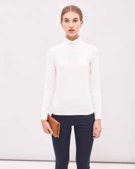 Newhouse Turtleneck top Ant. melange