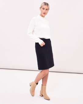 Newhouse Flausch Skirt Navy