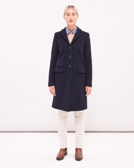 Newhouse Paletå Coat Navy