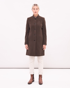 Newhouse Classic Coat Chocolate