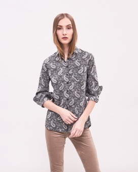 Newhouse Elsa Liberty Shirt Dark grey