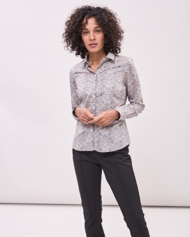 Newhouse Louise Liberty Shirt Light Grey