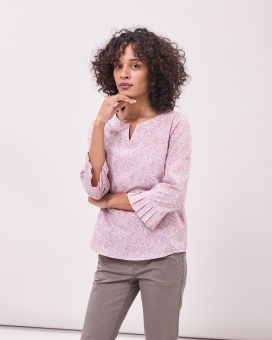 Newhouse Liberty Blouse Pink