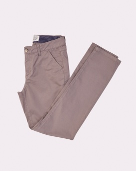 Newhouse Basic Chino Trouser Grey Stone