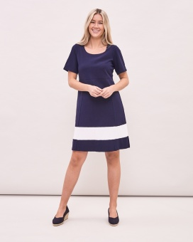 Newhouse Every Day Dress Navy