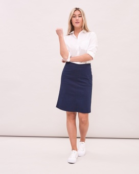 Newhouse Chinos Skirt Navy