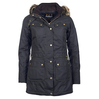 Barbour International Mallory wax jacket