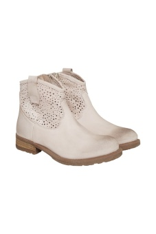 Cream Cassie Boot Rose Dust