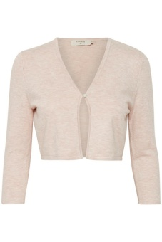 Cream Cana Knit Cardigan Sepia Rose