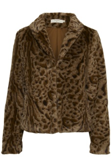Cream Char Fur Jacket
