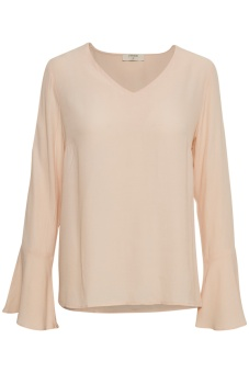 Cream Fabila Blouse Birch