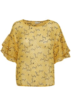Cream Dmitri Blouse Cornish Yellow