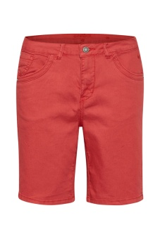 Cream Vita Capri Twill Short Regular fit Cranberry