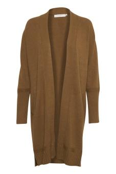 Cream Amandine Knit Cardigan Bronzed